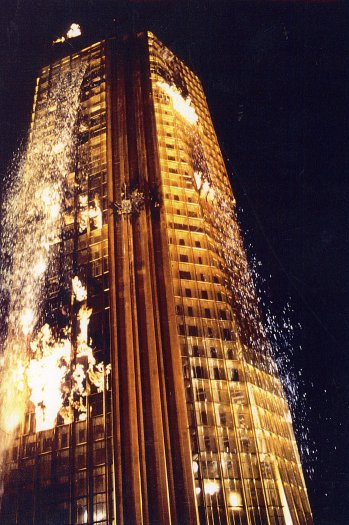 Towering Inferno extinsguished still