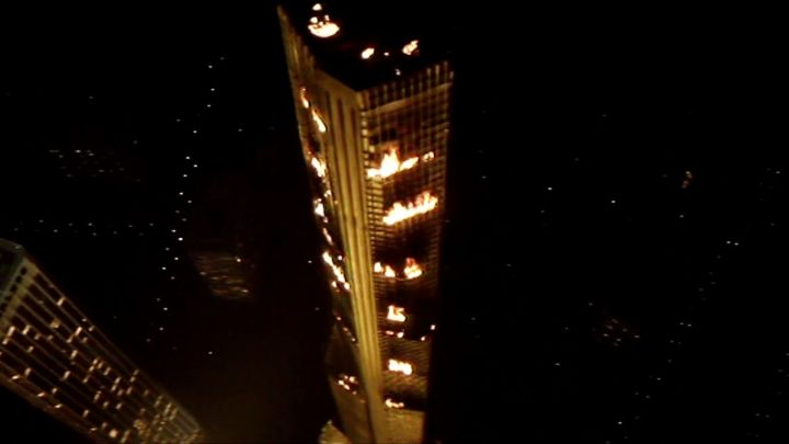 Towering Inferno Peerless Building shot