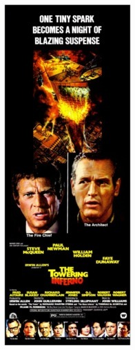 Film poster The Towering Inferno