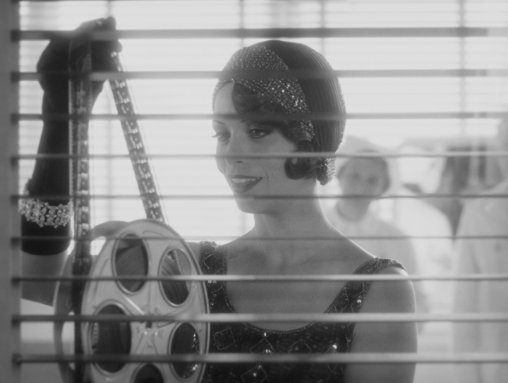 the-artist-berenice-bejo-and-film-reel