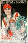 image poster spanish dancer negri