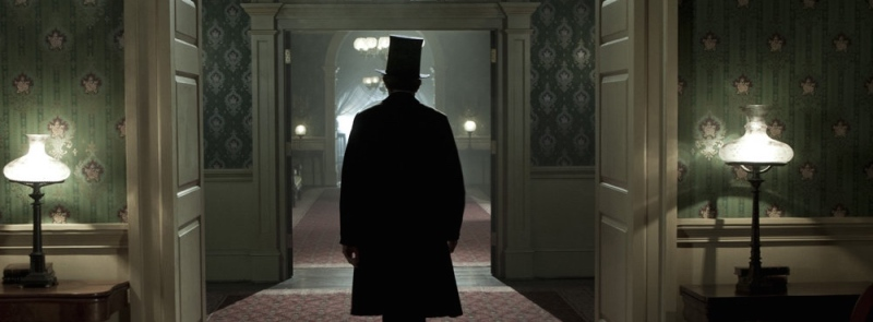 Image of Daniel Day Lewis in the film Lincoln.