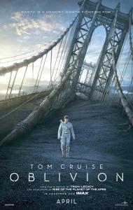 Oblivion poster Tom Cruise