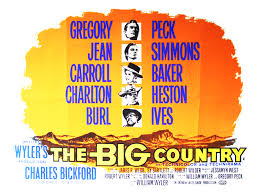 Film poster The Big Country