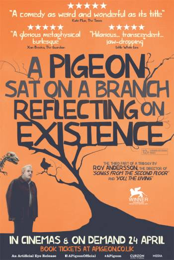 Risultati immagini per a pigeon sat on a branch reflecting on existence poster