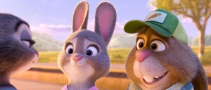 Bunny Judy Hopps, voiced by Ginnifer Goodwin