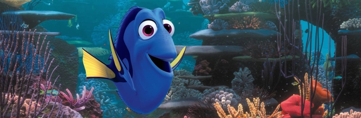 Ellen DeGeneres provides the titular voice in Finding Dory.