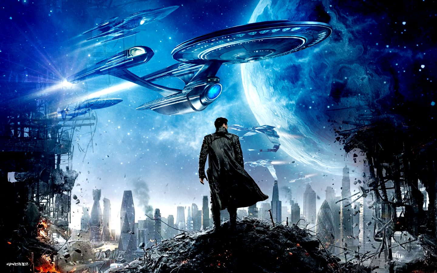 Star Trek Into Darkness 2013 Find Out How A Non Trekkie Rated This Sci Fi Spectacular Cinesocialuk