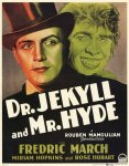 Dr Jekyll and Mr Hyde (1931) poster