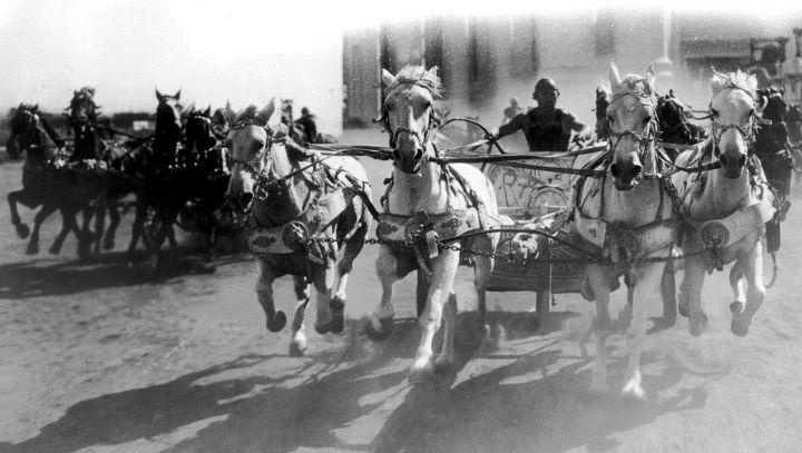 Ben Hur 1925 chariot race