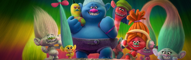 Trolls (2016) image courtesy of Dreamworks