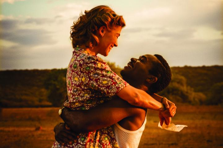 Love does not conquer all for Ruth and Seretse in Amma Asante's A United Kingdom. Image courtesy of Pathe.