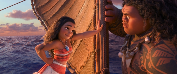 Moana has all the gumption but none of the technical skills...until a helpful man shows her the way.