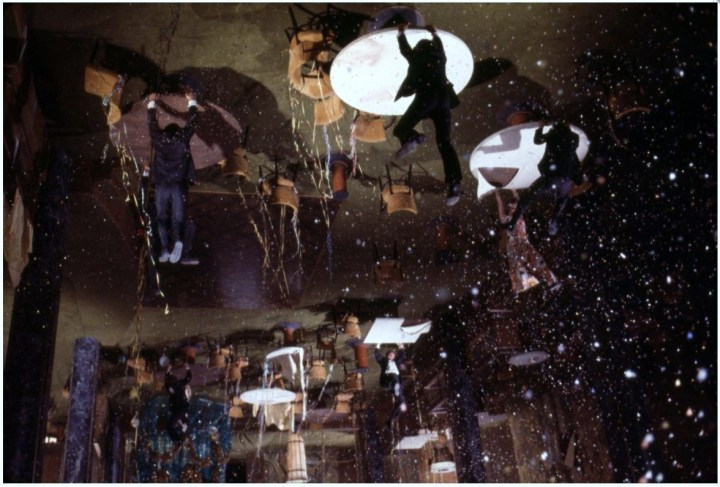 The Poseidon Adventure (1972), dining salon post-capsize.