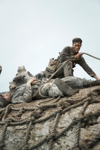 Still of Hacksaw Ridge starring Andrew Garfield.