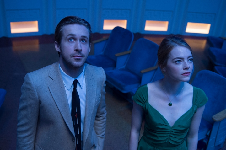 Seeing stars...Sebastian takes Mia to the Planetarium in La La Land (2016)