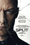 Poster of the film Split starring James MacAvoy.