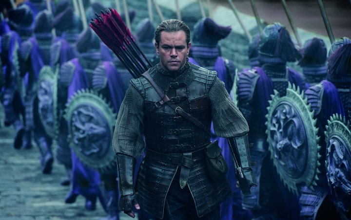 image of matt damon in the great wall
