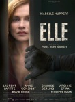 poster of the film elle starring isabelle huppert