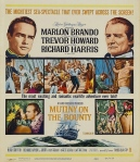 mutiny on the bounty poster 1962