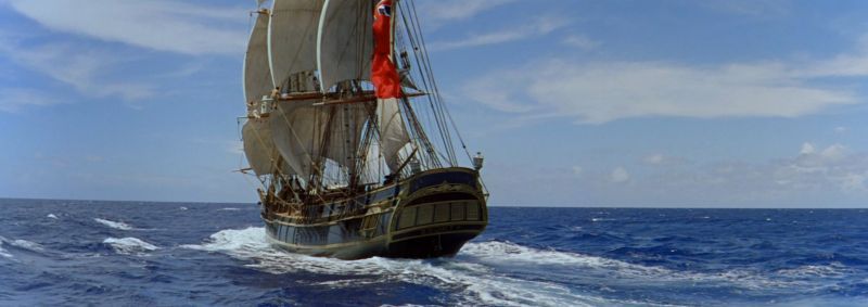hms the bounty in mutiny on the bounty
