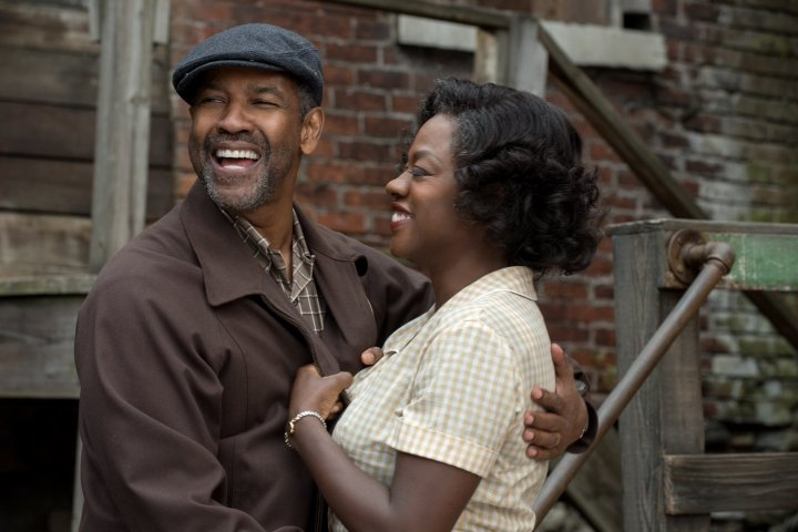 image of fences denzel washington and viola davis