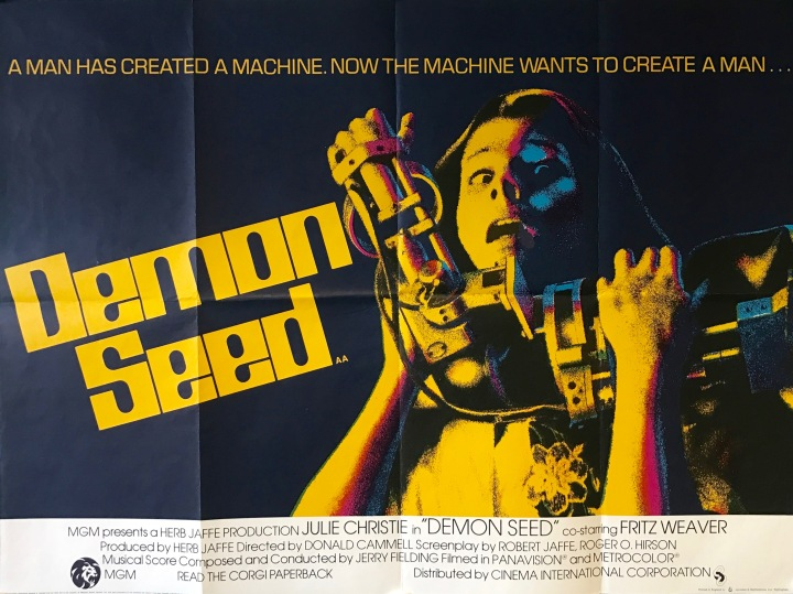 poster image demon seed julie christie