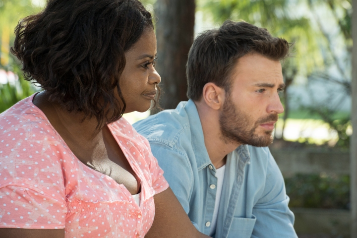 image still photo octavia spencer chris evans gifted