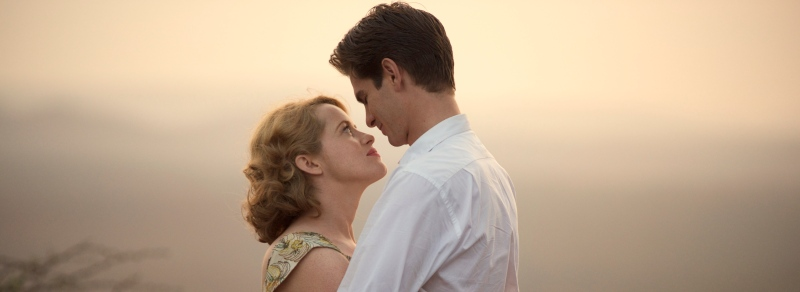 image still film claire foy andrew garfield breathe