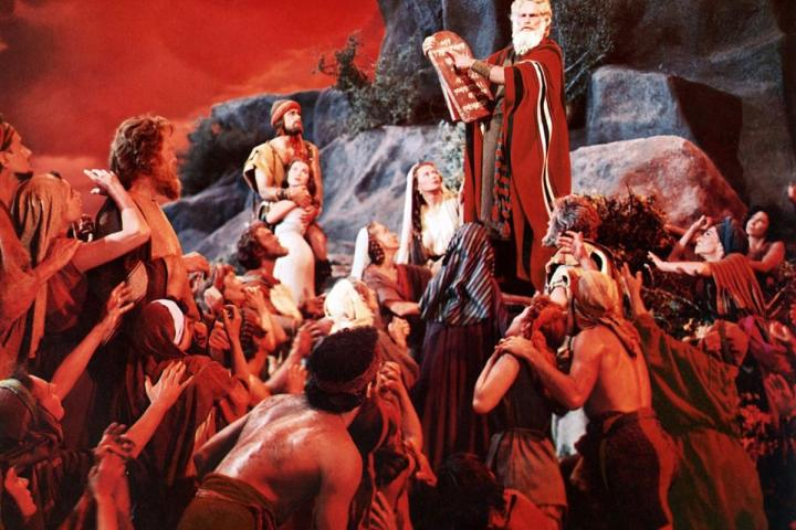 image still ten commandments moses heston