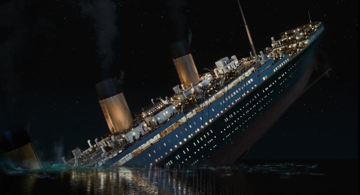 image still titanic sinking 1997