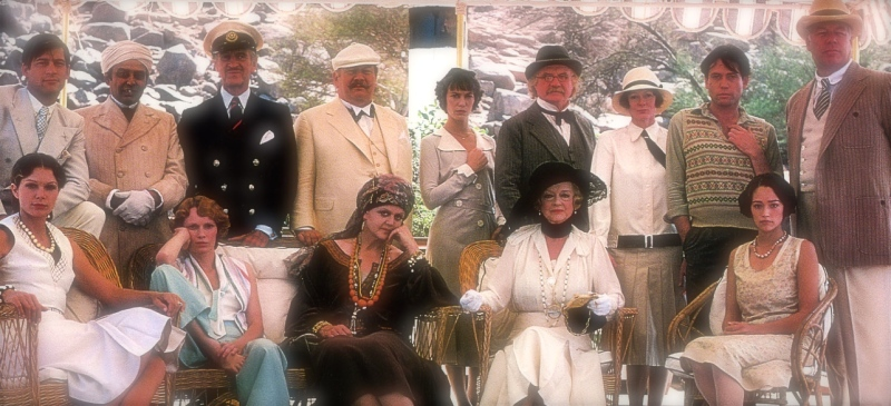 image photo death on nile all cast