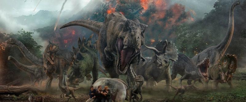 image jurassic world fallen kingdom volcano dinosaur