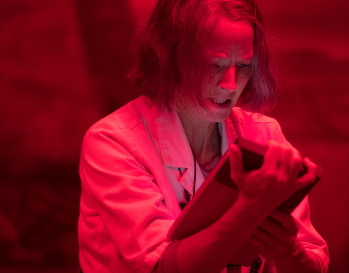 image jodie foster hotel artemis red