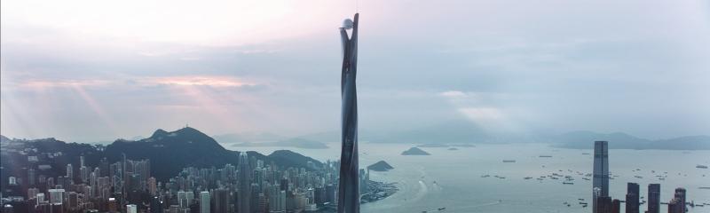 image film still skyscraper pearl building
