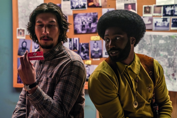 image film driver washington blackkklansman
