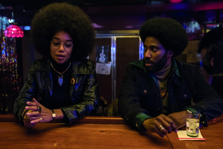 image film laura harrier john david washington blackkklansman