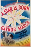 film poster star is born 1937 gaynor march