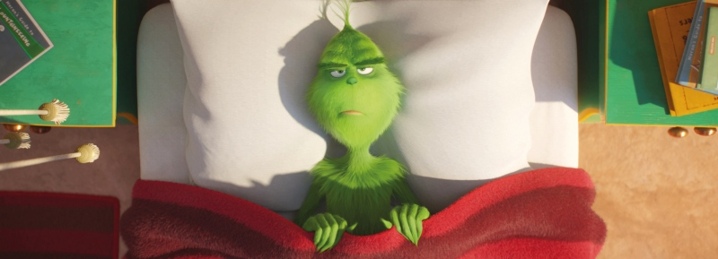 image film grinch 2018 bed