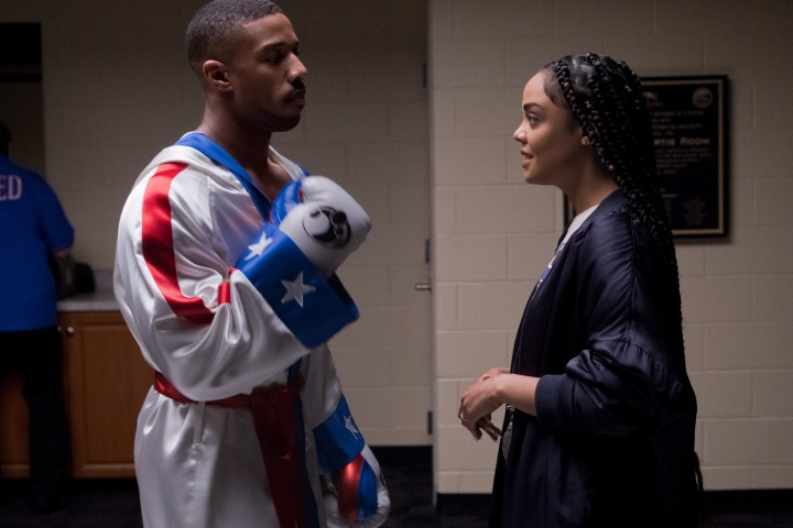 image film creed ii michael b jordan tessa thompson