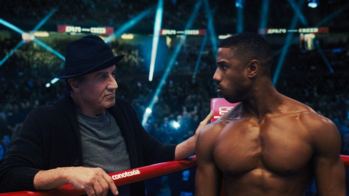 image film creed ii stallone michael b jordan