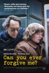 image poster can you ever forgive me mccarthy grant