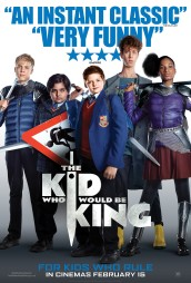 image film poster kid who would be king