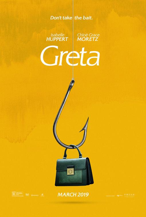 image greta film poster handbag