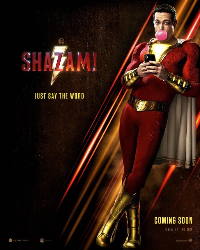image shazam poster
