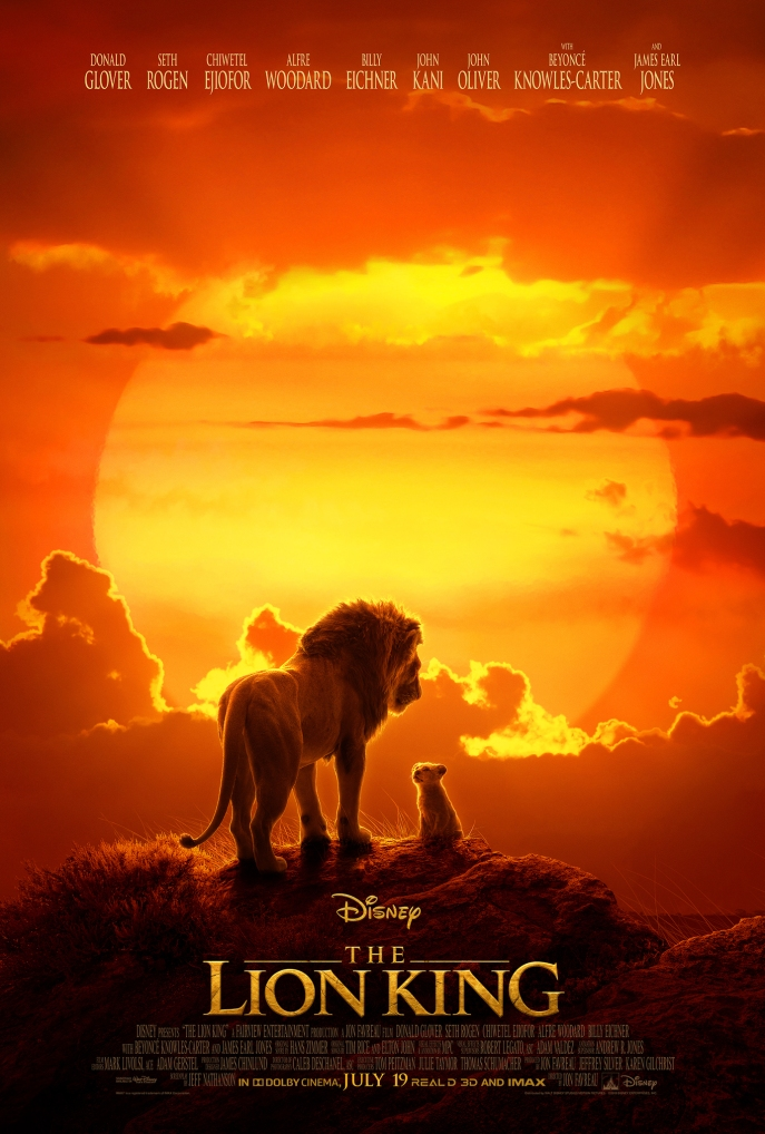 Image of the poster for The Lion King (2019).