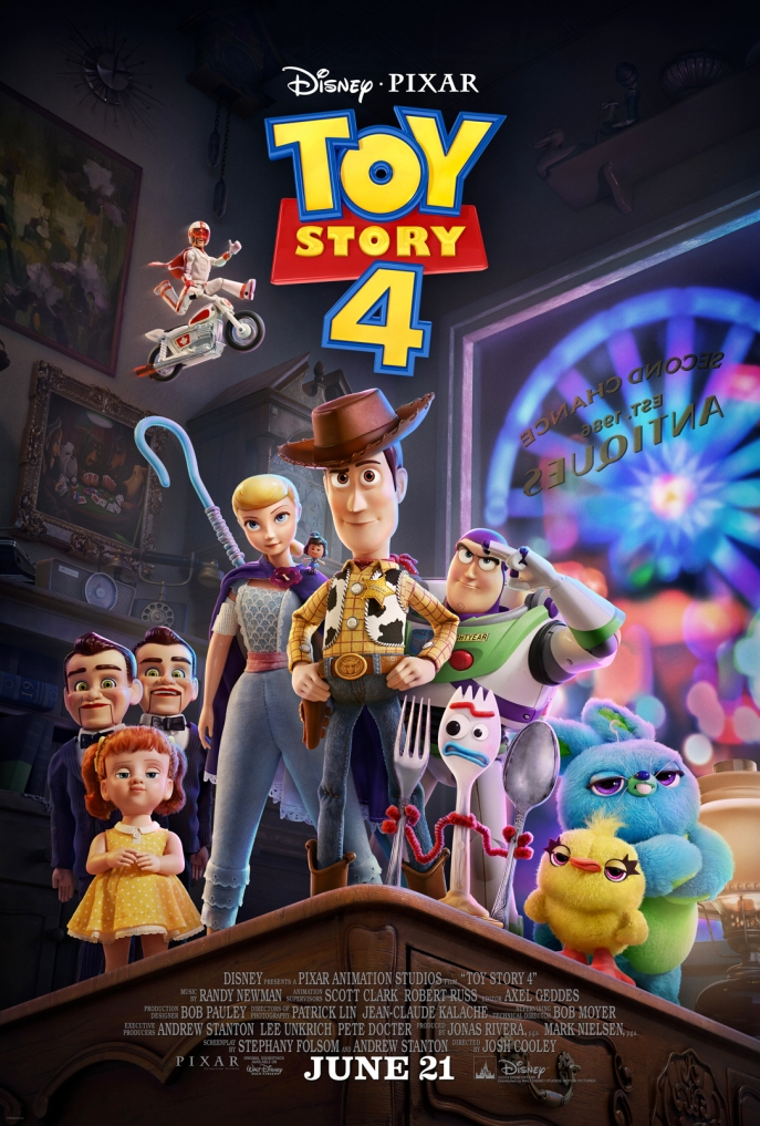 Image of Toy Story 4 postyer