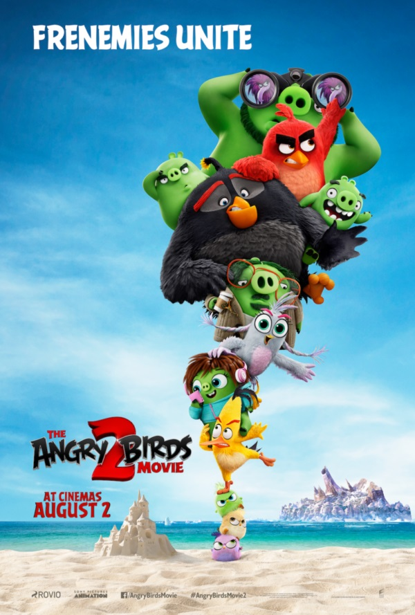Image of a poster for the film Angry Birds 2