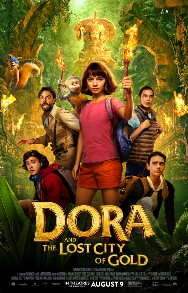 Poster of the film Dora and the Lost City of Gold