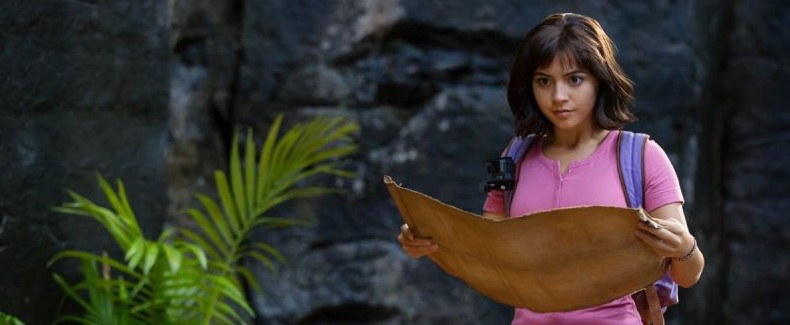 Isabela Moner as Dora in Dora and the Lost City of Gold